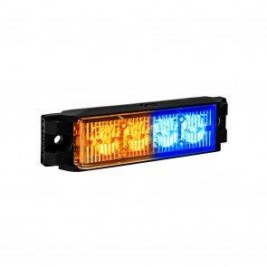"NanoFlare 4"" 4W Light Head - Amber / Blue"
