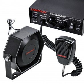 SoundAlert 100W Mechanical Siren + 100W 118-124dB Speaker Kit
