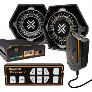 ThunderWave TWSN11 Remote Siren Amplifier + 2 x TWSP11 100W Siren Speaker