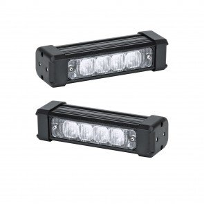 "2pc SolarBlast 6"" 4W Deck Light"