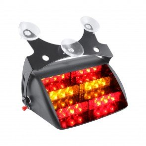 "5"" 18-LED Dash Light - Amber / Red"