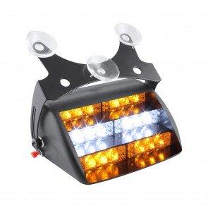 """5"""" 18-LED Dash Light - Amber / White"""