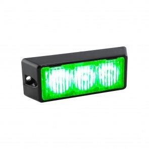 """SolarBlast 4"""" 3W Light Head - Green"""