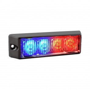 "SolarBlast 5"" 4W Light Head - Blue / Red"