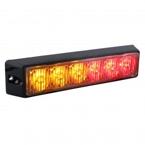 "SolarBlast 6"" 6W Light Head - Amber / Red"