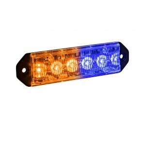"PlanarFlash 5"" 6W Light Head - Amber / Blue"