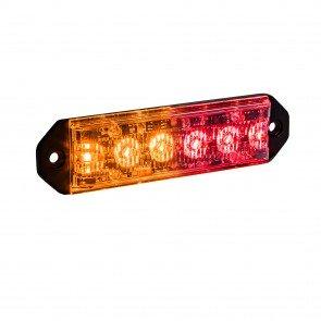"PlanarFlash 5"" 6W Light Head - Amber / Red"