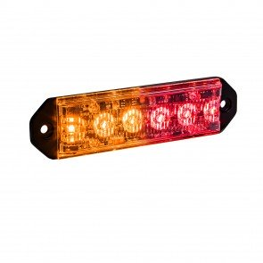 "PlanarFlash 5"" 6W Light Head - Amber / Red"