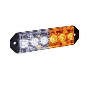"PlanarFlash 5"" 6W Light Head - Amber / White"
