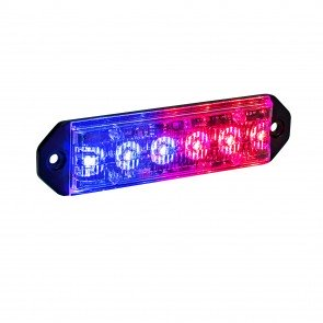 "PlanarFlash 5"" 6W Light Head - Blue / Red"