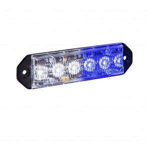 "PlanarFlash 5"" 6W Light Head - Blue / White"