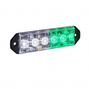 "PlanarFlash 5"" 6W Light Head - Green / White"