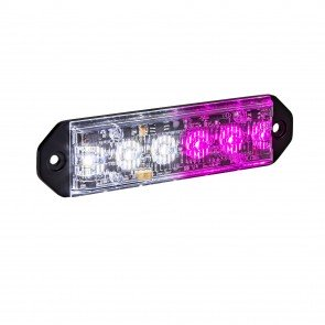 "PlanarFlash 5"" 6W Light Head - Purple / White"