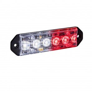 "PlanarFlash 5"" 6W Light Head - Red / White"