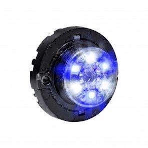 SnakeEye-III 6W Surface-Mount Hideaway Light - Blue / White