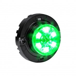 SnakeEye-III 6W Surface-Mount Hideaway Light - Green