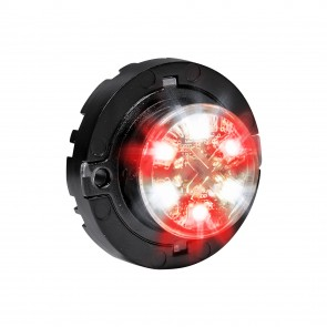 SnakeEye-III 6W Surface-Mount Hideaway Light - Red / White