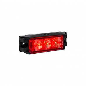 "NanoFlare 3.5"" 3W Light Head - Red"