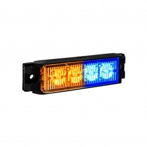 "NanoFlare 4"" 4W Light Head - Amber / Blue"