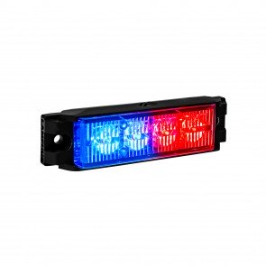 "NanoFlare 4"" 4W Light Head - Blue / Red"