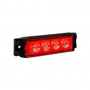 "NanoFlare 4"" 4W Light Head - Red"