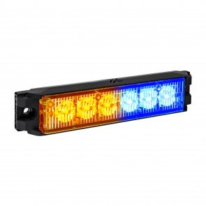 "NanoFlare 5.25"" 6W Light Head - Amber / Blue"