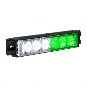 "NanoFlare 5.25"" 6W Light Head - Green / White"