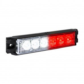 "NanoFlare 5.25"" 6W Light Head - Red White"