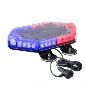 "NanoFlare 12"" 40W Mini Light Bar - Blue / Red"