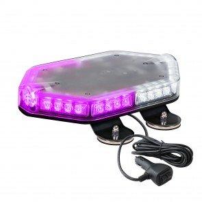 "NanoFlare 12"" 40W Mini Light Bar - Purple / White"