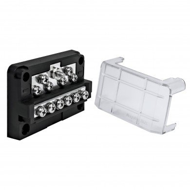 12-Way M4 Modular Ground Terminal Block