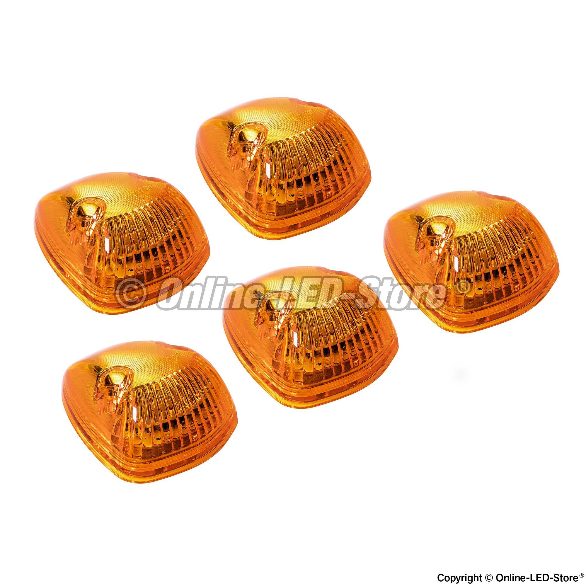 Ols Universal 12 Led Cab Lights Amber Direct