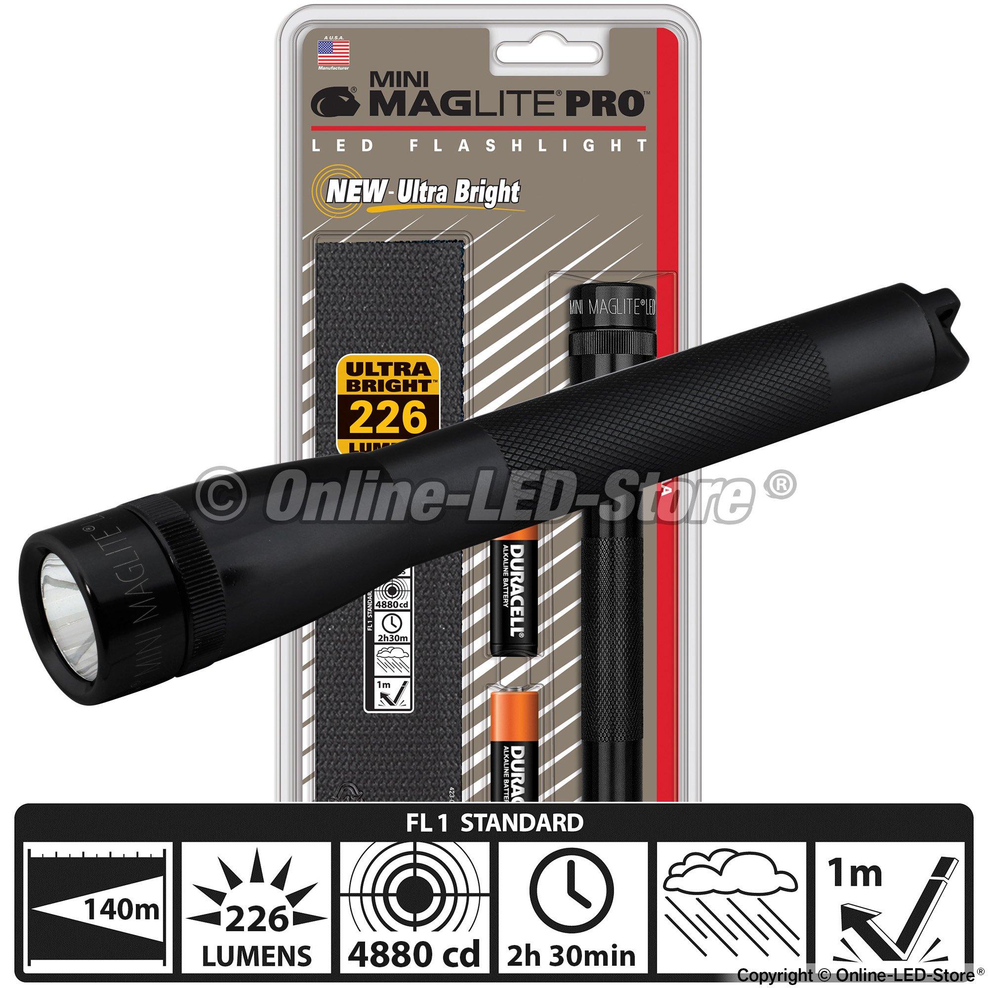 Led Maglite Flashlight Maglite Mini Flashlight