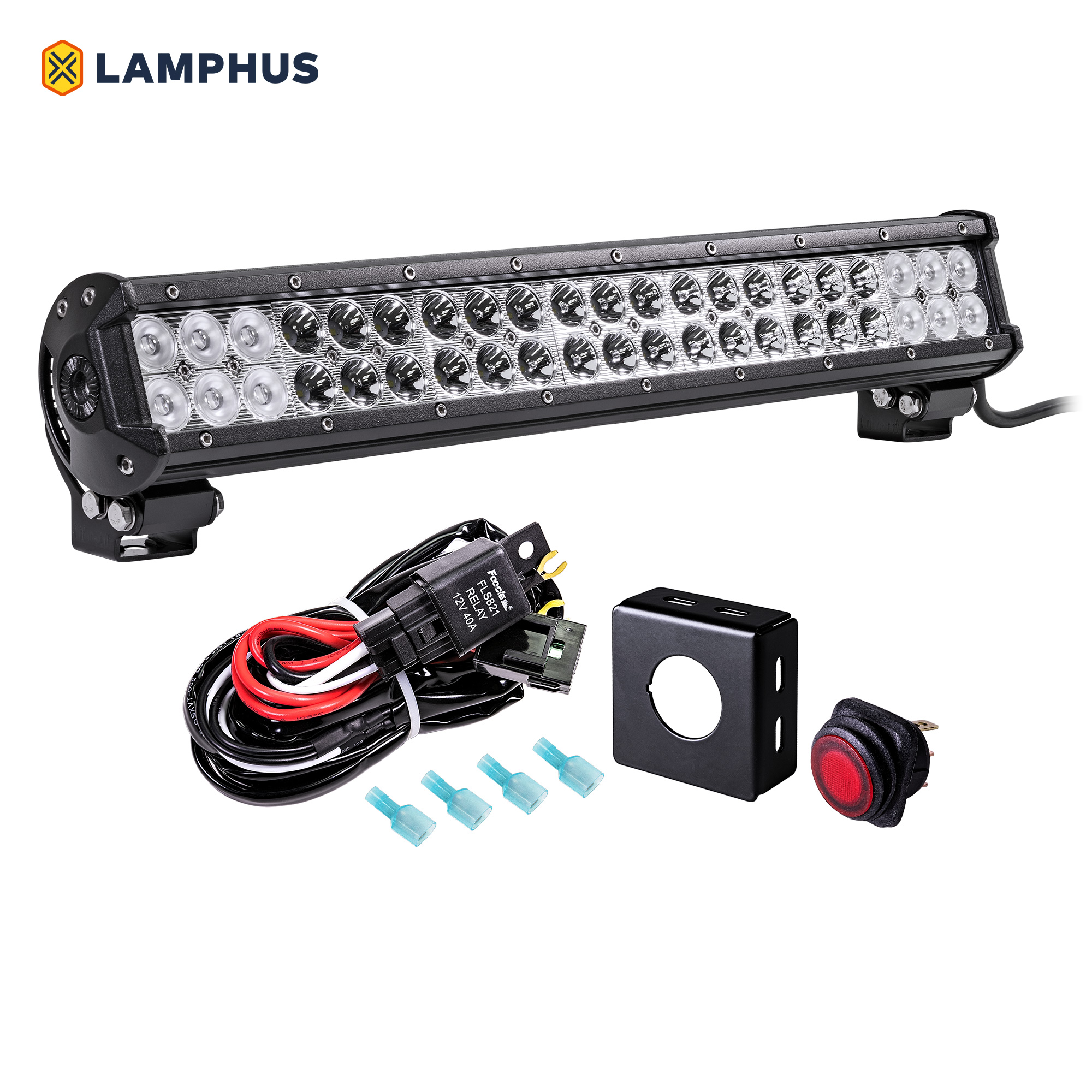 Quot led light bar wiring kit online store