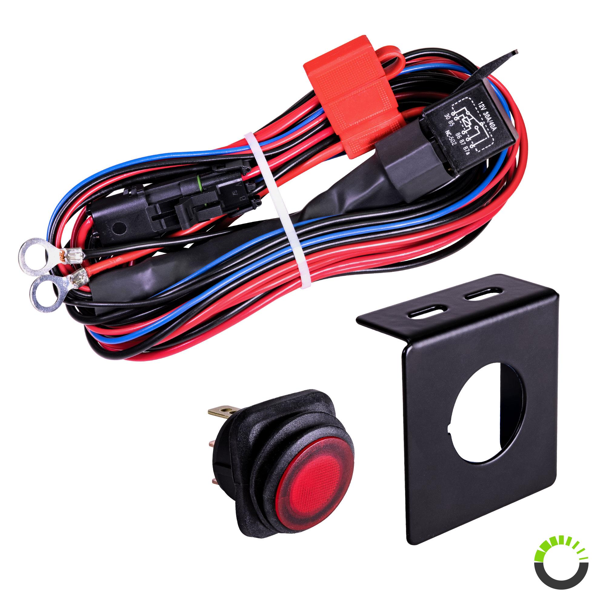 cruizer 17ft 30 40a relay 12awg 1 1 wiring harness w 25a. Black Bedroom Furniture Sets. Home Design Ideas
