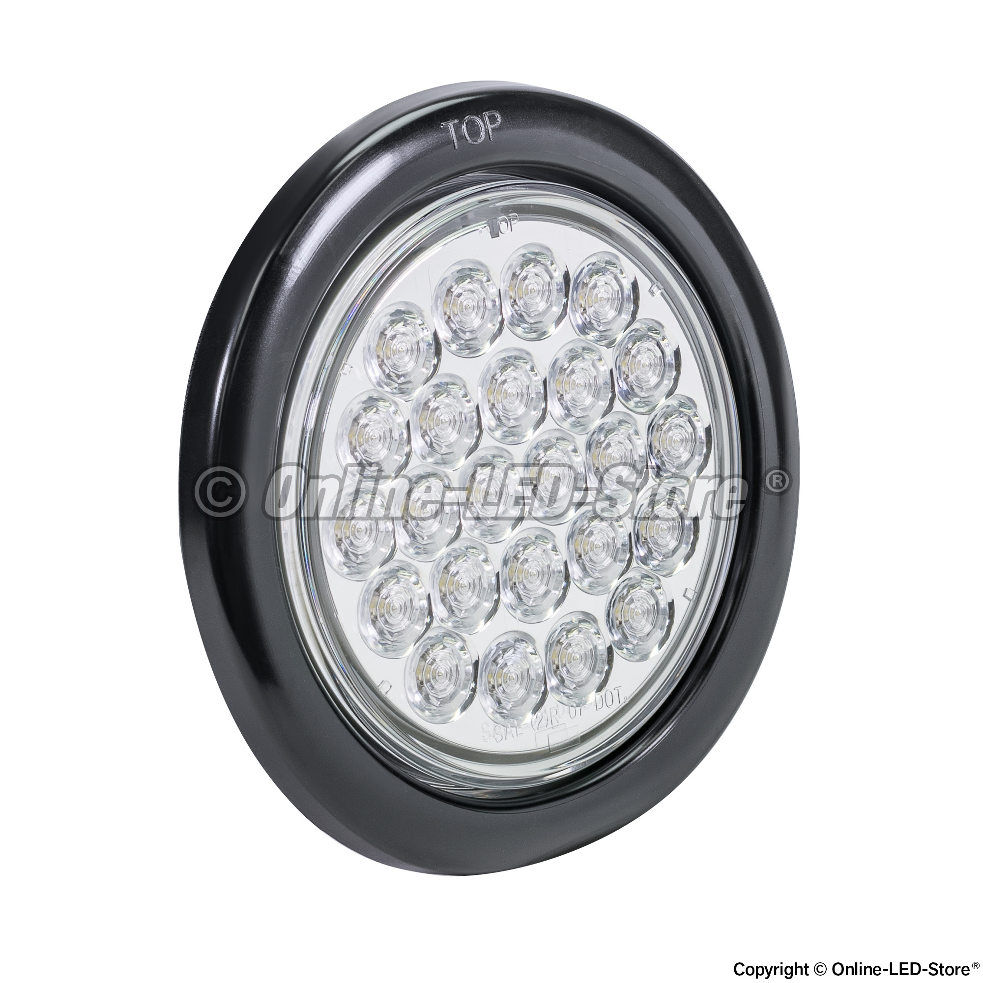 4 Quot Round Led Lights Led Tail Light For Trailer