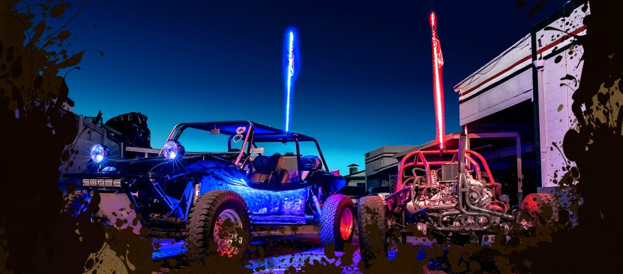 Top 3 Reasons Why You Need LED Whips on Your Off-Roader Right Now
