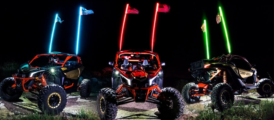 LED Whips Enhance The Style Of Your Ride