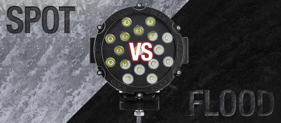 Spot Lights vs. Flood Lights: When to Use Which