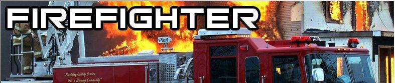 volunteer fire rescue lights
