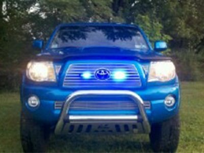 Truck Blue Grille Light Shawn Carnahan